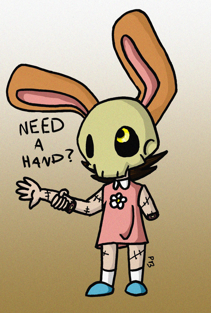 need a hand? by Peeka13
