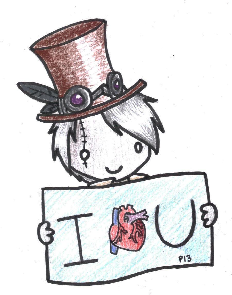 I Heart You. by Peeka13