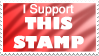 I Support This Stamp. by Peeka13
