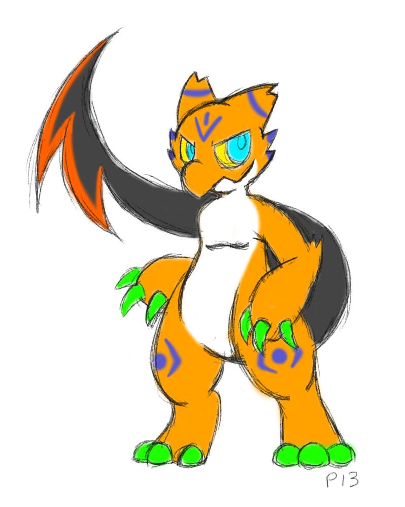 Random creature design by Peeka13