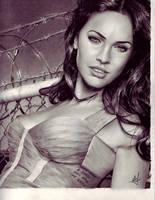 Megan Fox by Dustboy76