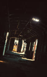 inside a lost train in Hyannis, MA - Part 2