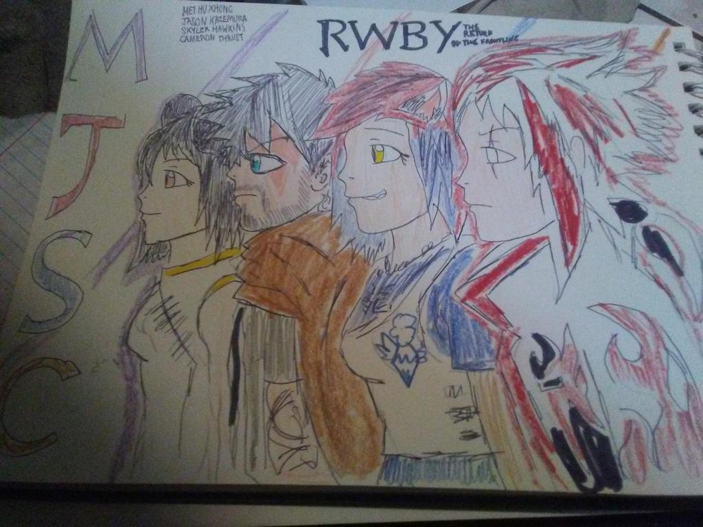 RWBY: Team MJSC by DMCjb3