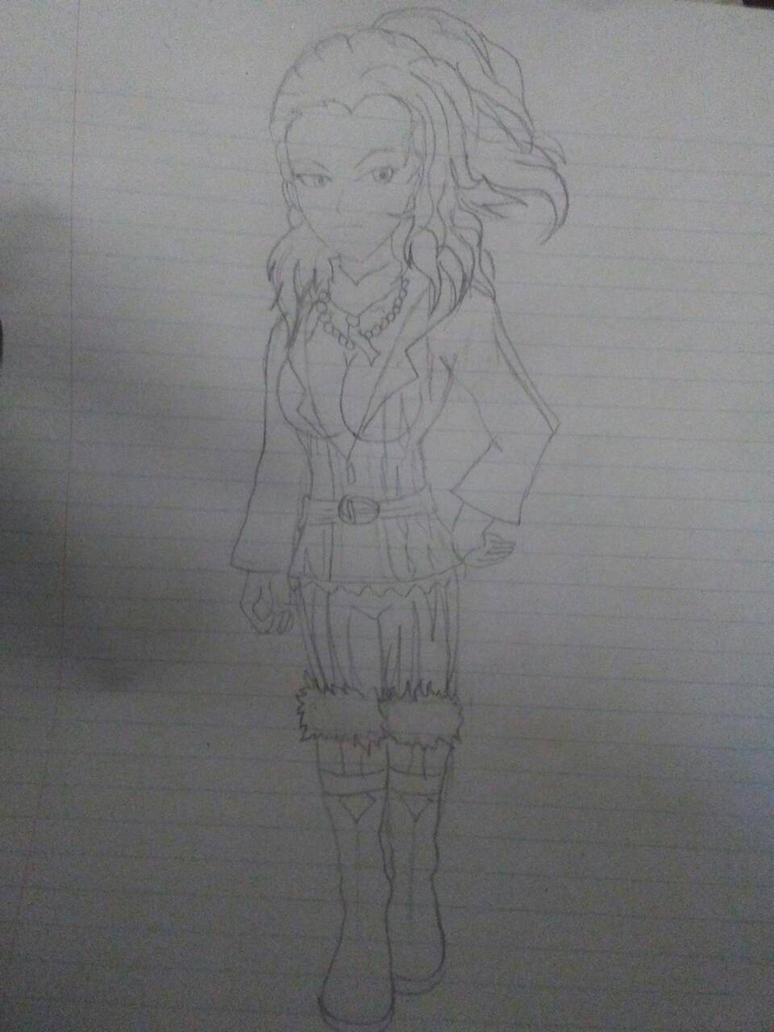 Re: Naomi Kimishima-Rough Draft. by DMCjb3