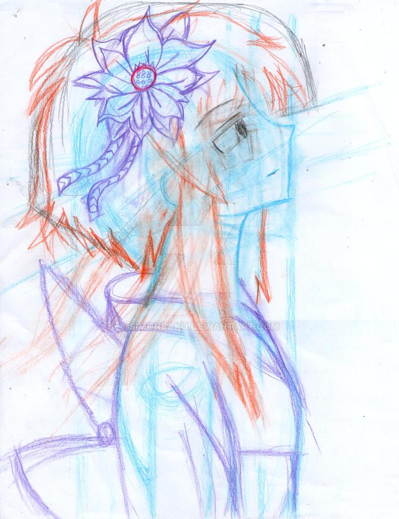 Sketch Kitayama Shizuku N# 2 by SimonBaku