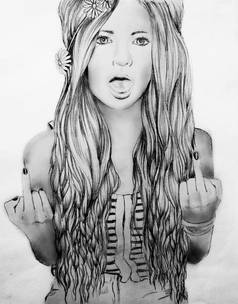 Tumblr Girl By KristinaWebb