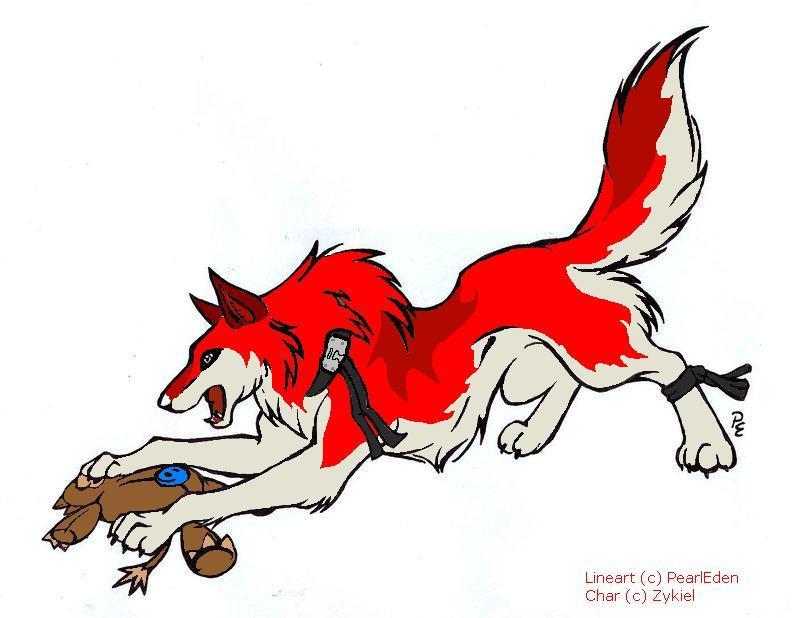 Ai-Wolf by Zykiel