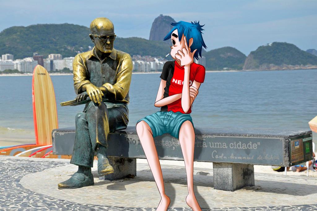 2D and Carlos Drummond de Andrade