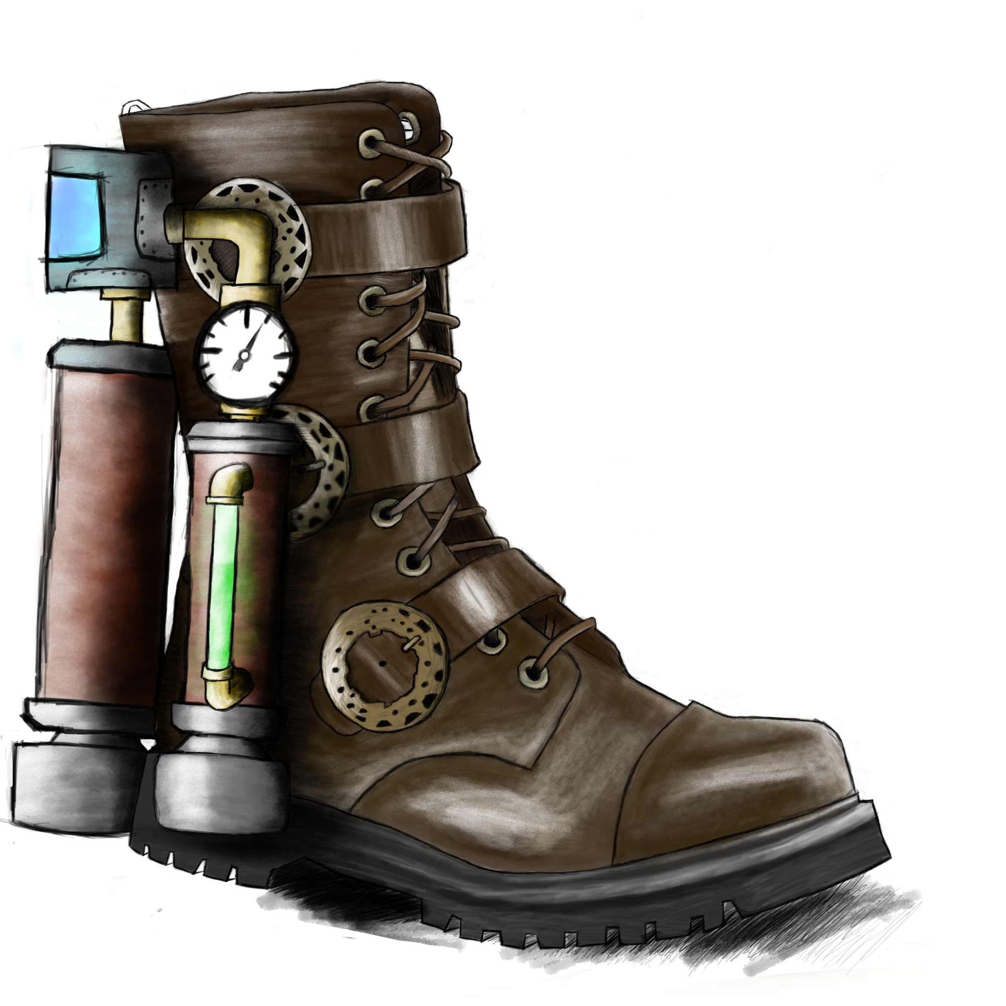 Rocket Boot Finished by SxNolan - 2544.2KB
