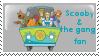 Scooby-doo stamp by Kaisuke1