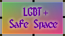 LGBT+ Safe Space by conjuringturn