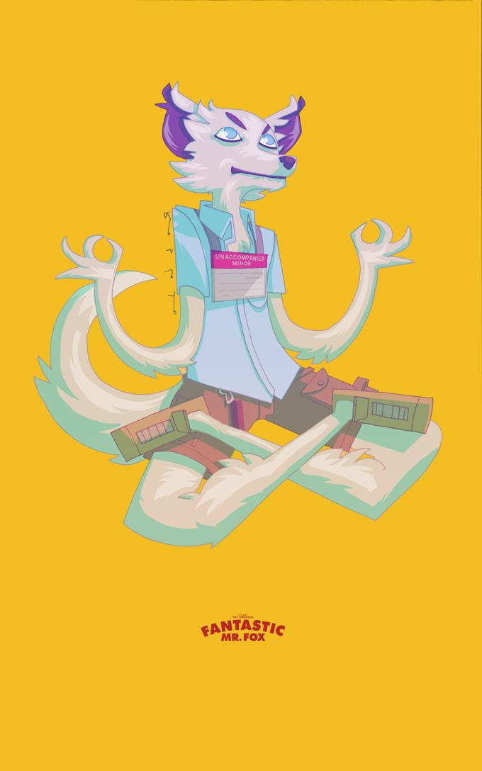 Fantastic Mr Fox Kristofferson By Joserobledo On Deviantart