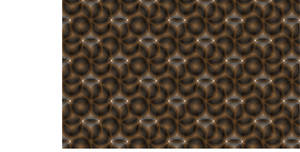 Transparency black and brown Pattern Design