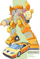 Kumanger Transformer by bokuman