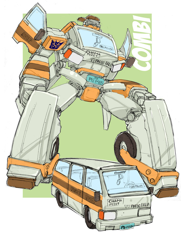 Combi Transformer by bokuman