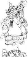 Transformers Sketch