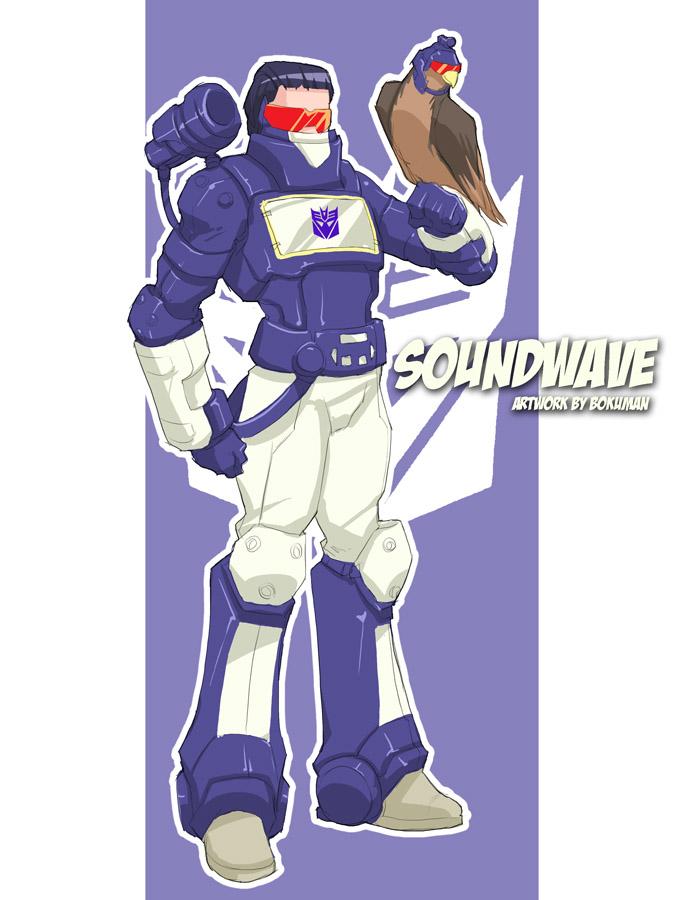 Soundwave by bokuman