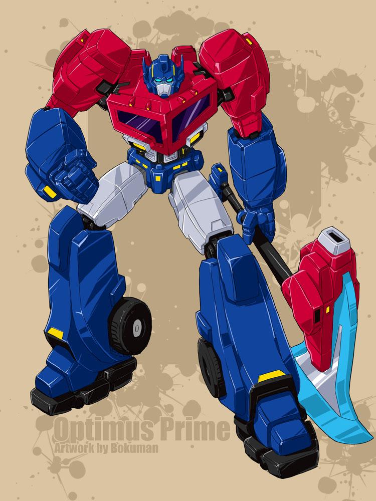 Optimus P finish by bokuman