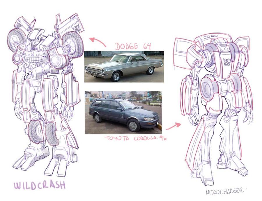 Transformers sketch by bokuman