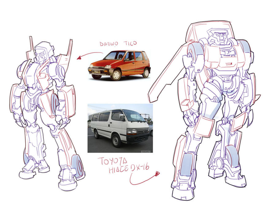 Transformers sketch 02 by bokuman