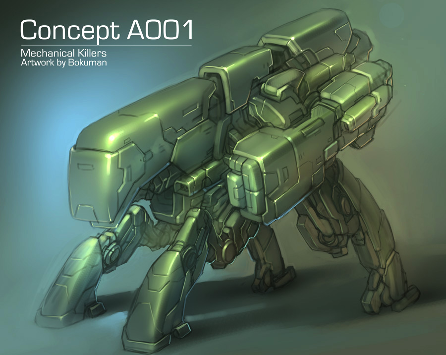 Robot Concept MK by bokuman