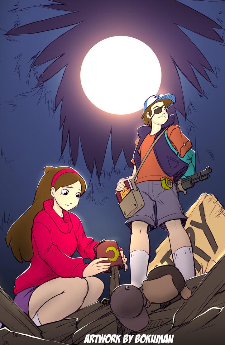 Gravity Falls WIF? by bokuman