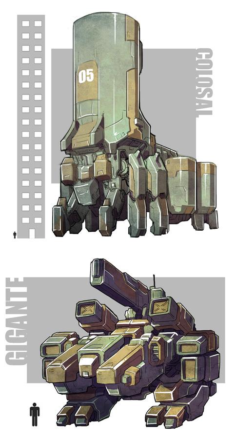 Robot concepts 002 by bokuman