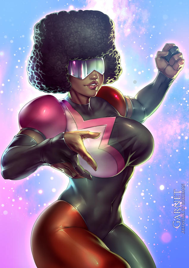 Garnet - Steven Universe Fanart + video
