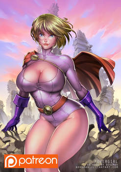 Powergirl Patreon