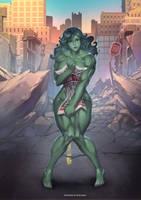 She Hulk Commission by bokuman