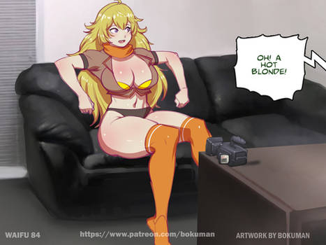 Waifu on couch 84