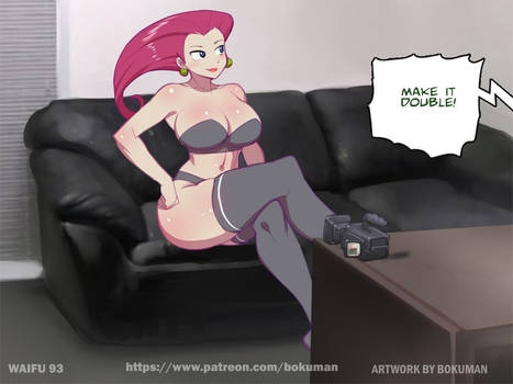 Waifu on couch 92