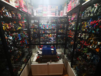 My toy collection room