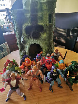 My starting MOTU collection
