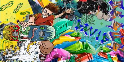 Skater graffiti sig by jd18 on deviantart skater graffiti sig by jd18 altavistaventures Images