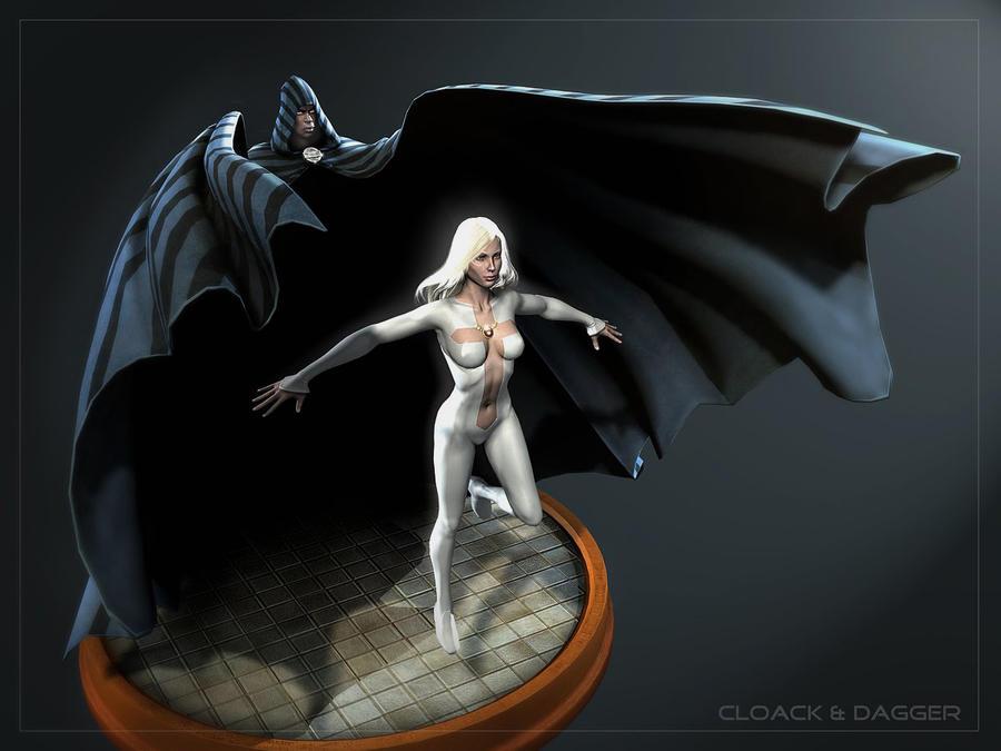 Cloak And Dagger By Ziopredy