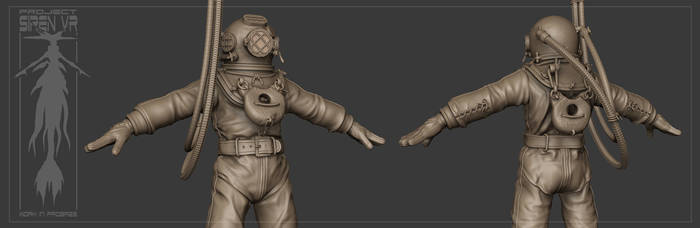 Old Diver WIP by ziopredy