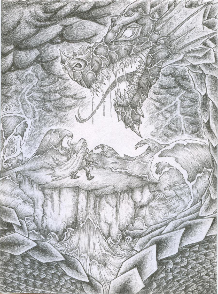 thor vs midgard serpent by Einherjer666 on deviantART