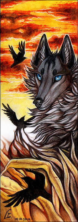 ACEO Rising Hope by Endlen