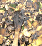 burned veggies