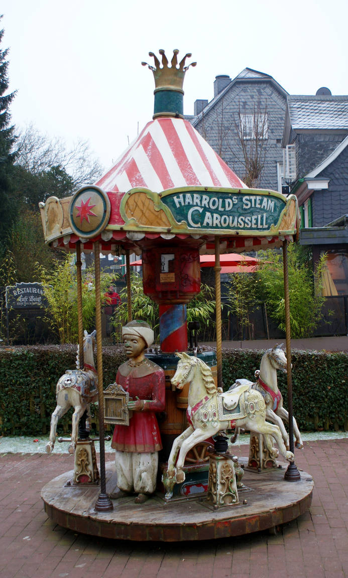 old caroussell by heyla-stock