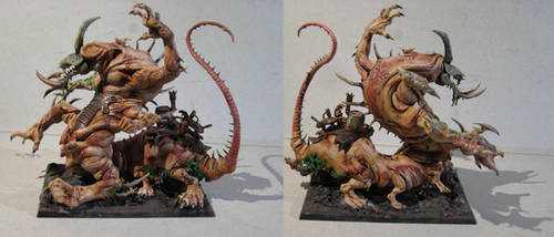 Skaven Converted Hellpit Abomination by MoritzNina