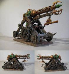Skaven Warp Lightning Cannon by MoritzNina