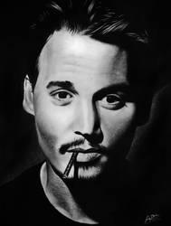 Johnny Depp by DuchaART
