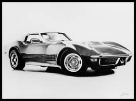 1970 Chevrolet Corvette by DuchaART