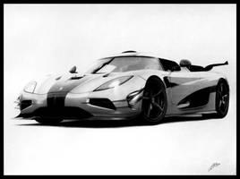 Koenigsegg One:1 by DuchaART