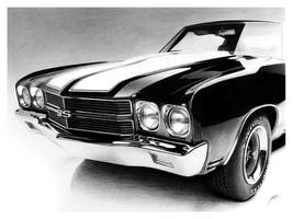 1970 Chevrolet Chevelle SS by DuchaART