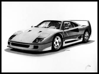 Ferrari F40 by DuchaART