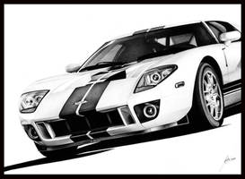 Ford GT by DuchaART