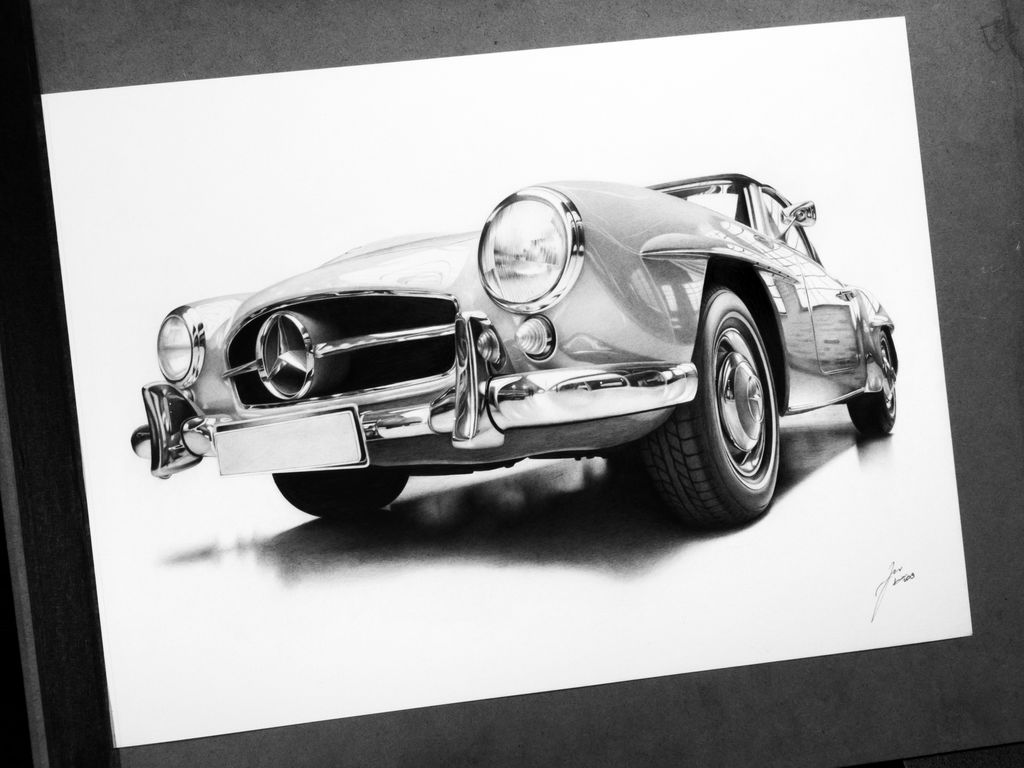 Mercedes-Benz 190 SL by DuchaART